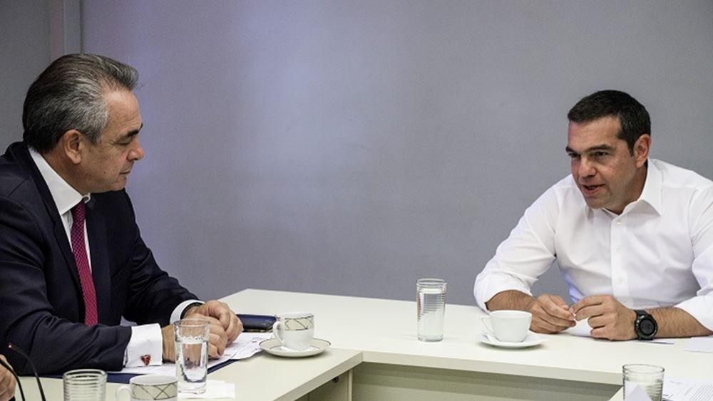 Τσίπρας: Ελπίζω να συνεχιστεί η θετική πορεία της οικονομίας