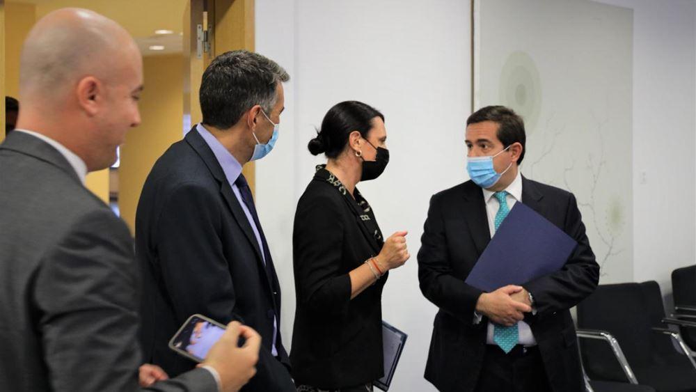 Συνάντηση Ν. Μηταράκη με την Εκτελεστική Διευθύντρια του Ευρωπαϊκού Γραφείου Υποστήριξης Ασύλου (EASO)