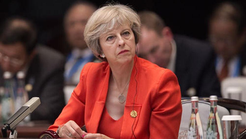 May... day από στερλίνα και αγορές για άτακτο Brexit