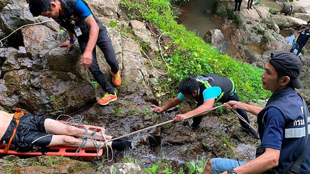 """Ταϊλάνδη: Γάλλος τουρίστας σκοτώθηκε προσπαθώντας να βγάλει """"σέλφι"""" σε καταρράκτη"""