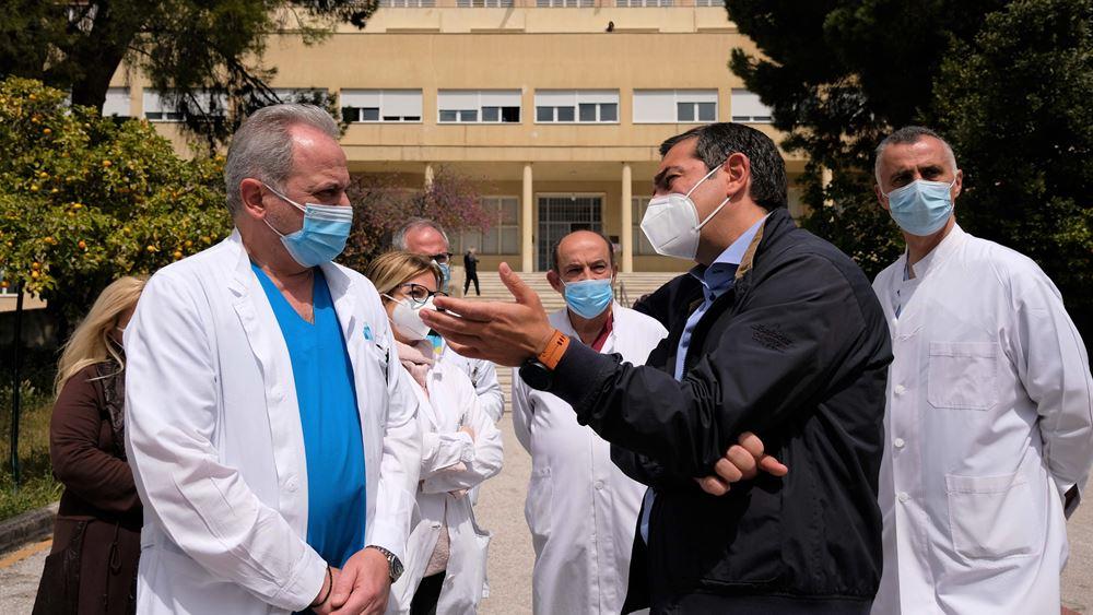 Αλ. Τσίπρας στο Σισμανόγλειο: Να σταματήσουν οι κυβερνητικές παλινωδίες - Η κατάσταση στα νοσοκομεία είναι δραματική