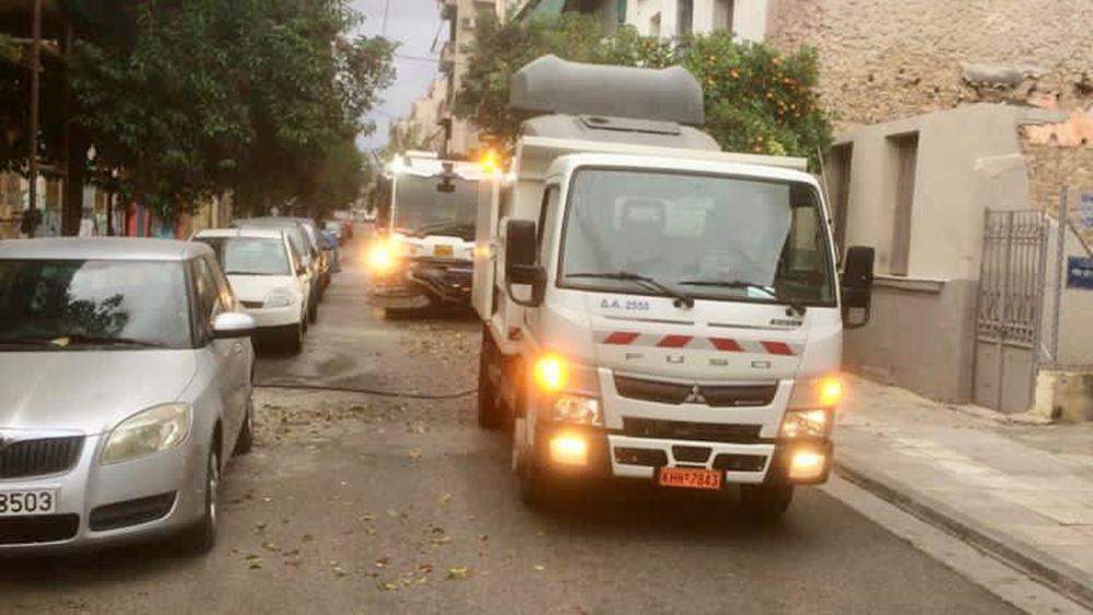Δήμος Αθηναίων: Κυριακάτικη επιχείρηση καθαριότητας στην περιοχή Κυπριάδου
