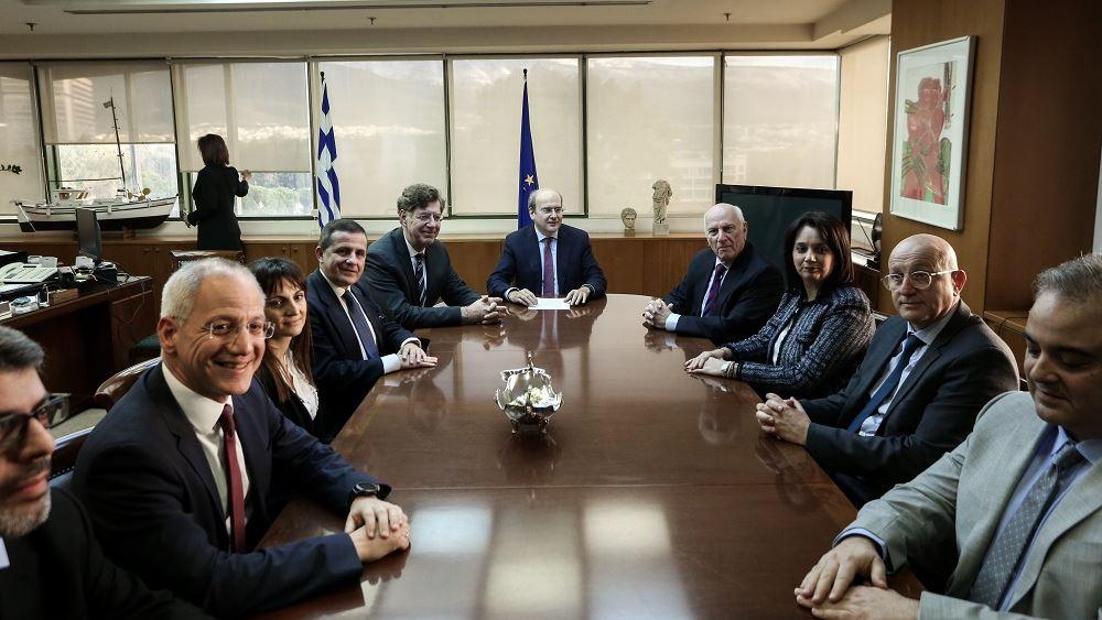 Συνεδρίαση της ειδικής επιστημονικής επιτροπής για την κλιματική αλλαγή υπό τον Χατζηδάκη