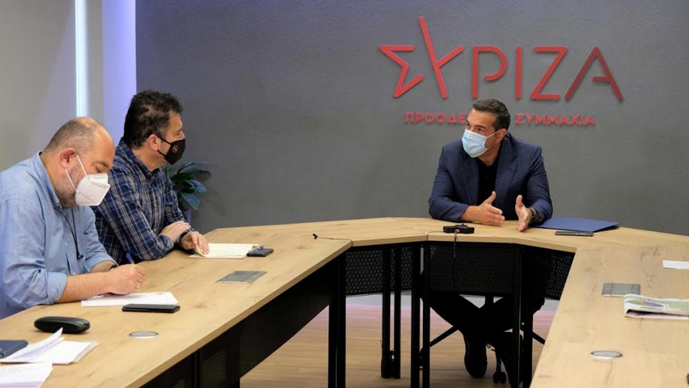 Τσίπρας με ΔΟΕ: Ανοίγουν τα σχολεία με μοναδικό όπλο τα self test, που είναι χρήσιμα αλλά χαμηλής ευαισθησίας