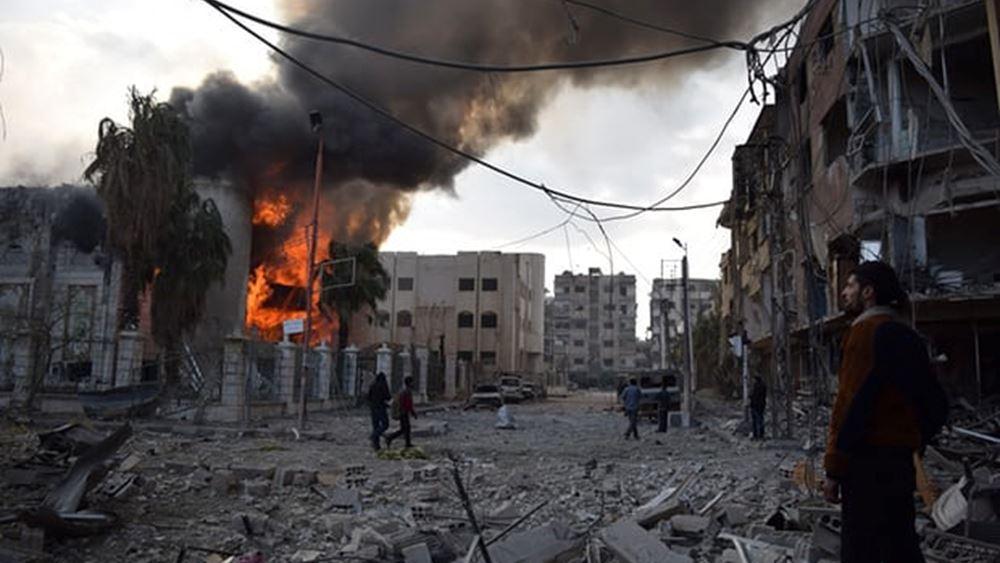 Συρία: Έκρηξη παγιδευμένου με εκρηκτικά αυτοκινήτου κοντά στα σύνορα Συρίας-Τουρκίας