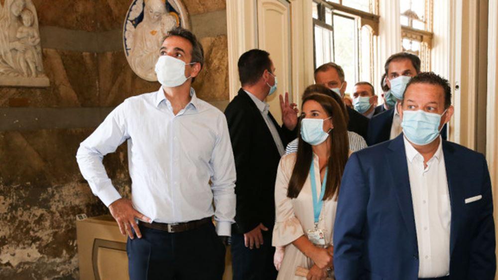 Μητσοτάκης από Κέρκυρα: Ντροπή η εικόνα στο Αχίλλειο