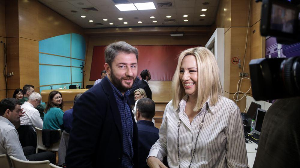 Ν. Ανδρουλάκης: Με τα λάθη της Φ. Γεννηματά κράτησε ο ΣΥΡΙΖΑ το 31%