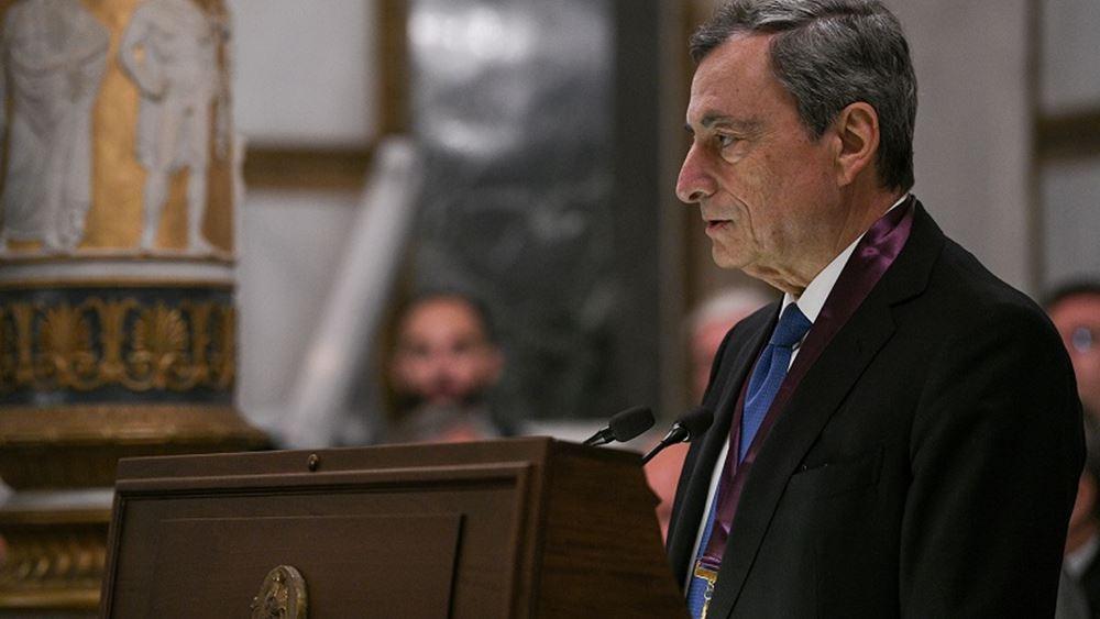 Ο Ντράγκι παραιτείται από τον πρωθυπουργικό μισθό του