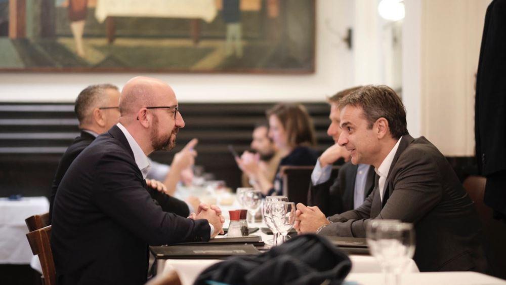 Κορονο-ομόλογα ζητούν από τον Σαρλ Μισέλ ο Κ. Μητσοτάκης και ακόμα 8 ηγέτες