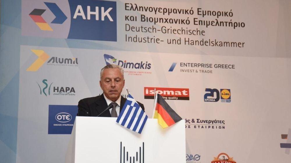 Κ. Μαραγκός: Ισχυροί και διαχρονικοί οι δεσμοί Ελλάδας – Γερμανίας