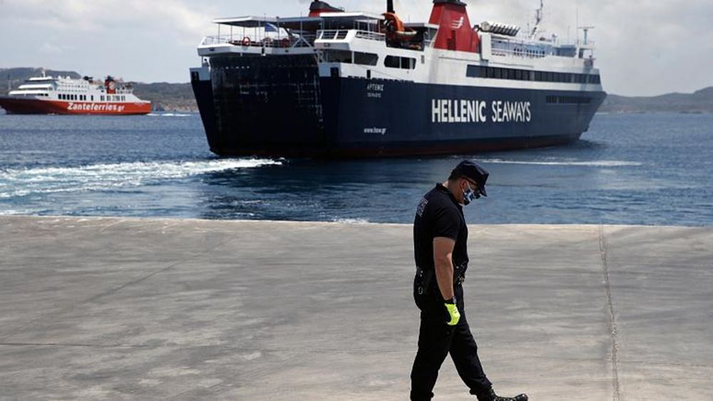 Εκτεταμένοι έλεγχοι από το Λιμενικό σε επιβάτες για την τήρηση των περιοριστών μέτρων