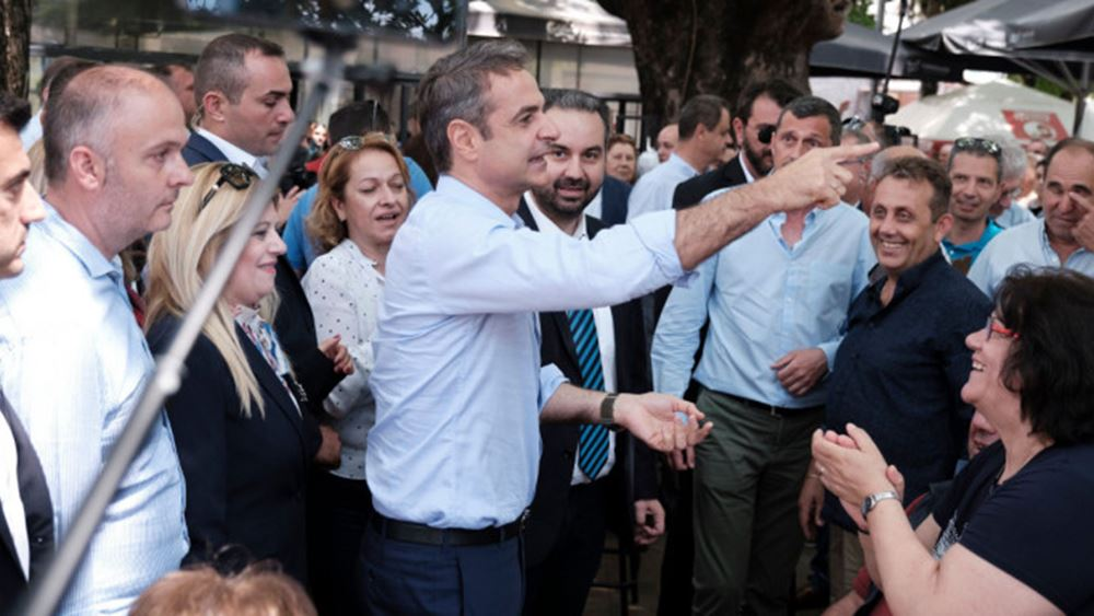 Δημοσκόπηση Marc: Κυρίαρχος του πολιτικού σκηνικού ο Κ. Μητσοτάκης