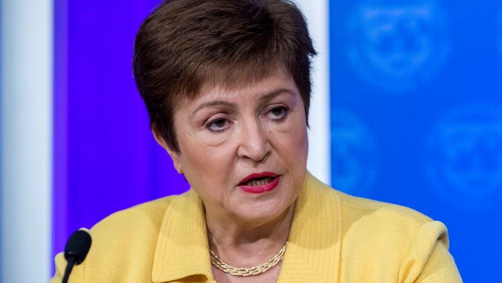 Γκεοργκίεβα (ΔΝΤ): Η πρώιμη διακοπή των κρατικών πακέτων στήριξης μπορεί να έχει σοβαρές συνέπειες