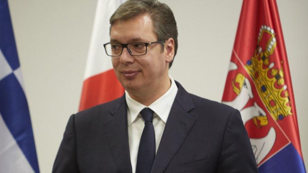 """Σερβία: Ο Βούτσιτς χαρακτηρίζει την παραίτηση Χαραντινάι """"πολιτικό τρικ"""""""