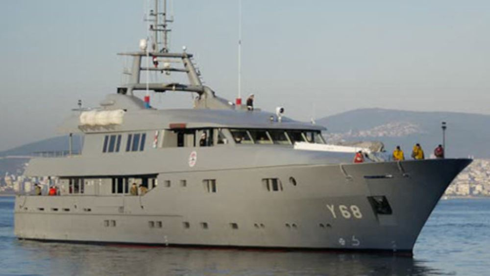 Ένα mega-yacht του πολεμικού ναυτικού της Τουρκίας ανήκει πλέον... στον Ερντογάν