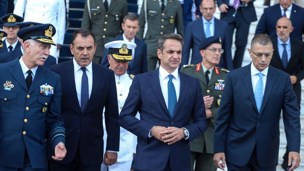 Παναγιωτόπουλος: Ενίσχυση ετοιμότητας, αξιόμαχου και αποτρεπτικής ικανότητας των Ενόπλων Δυνάμεων