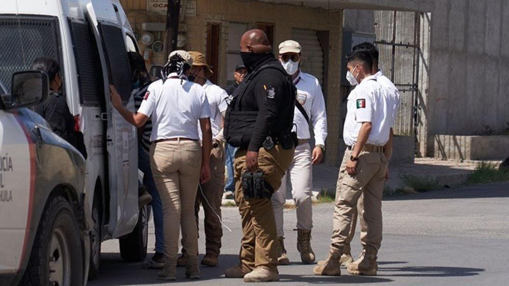 Μεξικό: Ανάπτυξη αστυνομικών δυνάμεων σε καταυλισμό μεταναστών από την Αϊτή