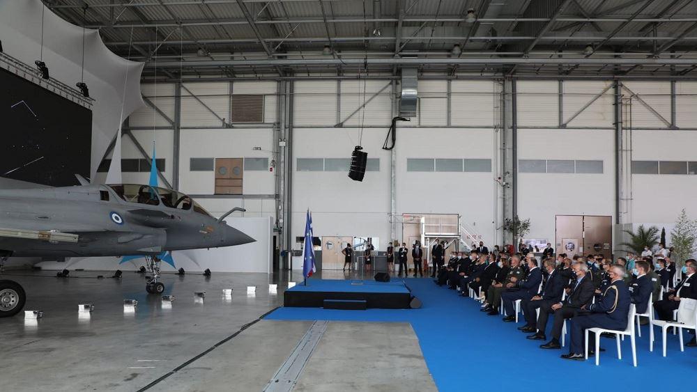 Η Ελλάδα παρέλαβε το πρώτο μαχητικό Rafale