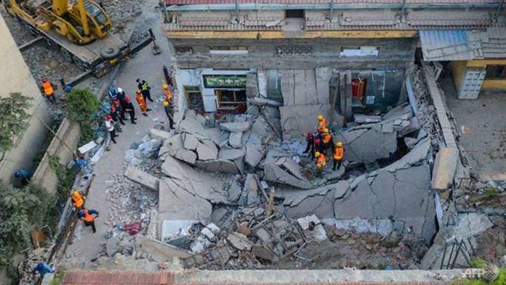 Κίνα: Τουλάχιστον 29 νεκροί από την κατάρρευση διώροφου εστιατορίου