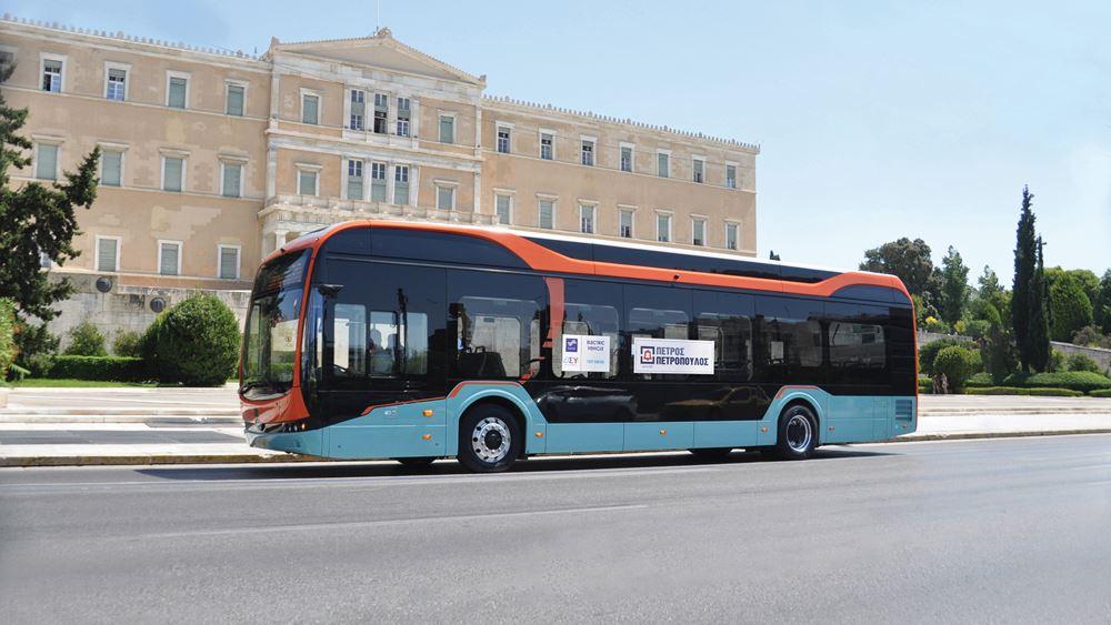 Tα ηλεκτρικά λεωφορεία της BYD στην Ελλάδα από την Πέτρος Πετρόπουλος ΑEBE