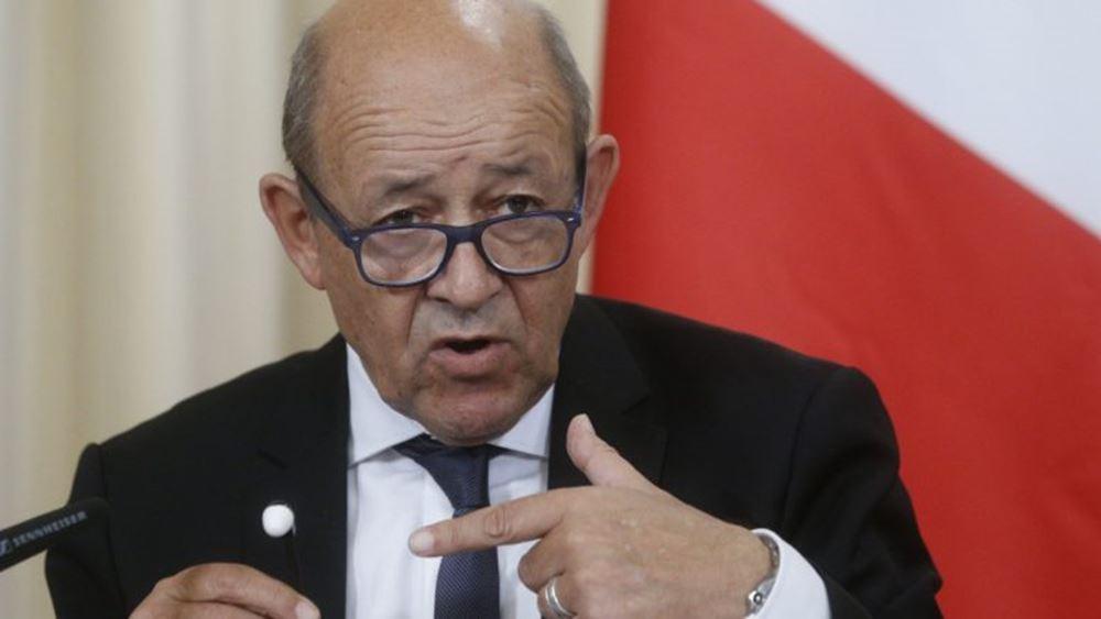 """Γάλλος ΥΠΕΞ: Η Γαλλία """"δεν χρειάζεται την άδεια κανενός"""" για να μιλήσει για το Ιράν"""