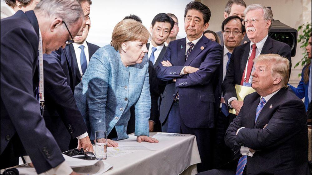 """""""Όχι"""" από Βερολίνο, Λονδίνο και Παρίσι στην επανένταξη της Ρωσίας στην G7"""
