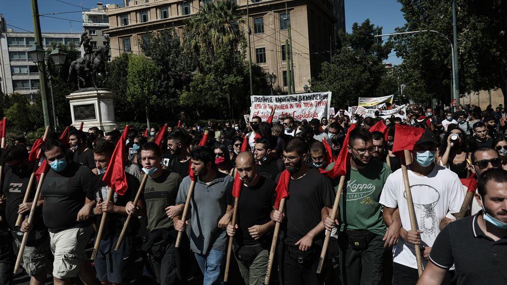Δύο προσαγωγές για τα μικρής έκτασης επεισόδια που σημειώθηκαν στο πανεκπαιδευτικό συλλαλητήριο