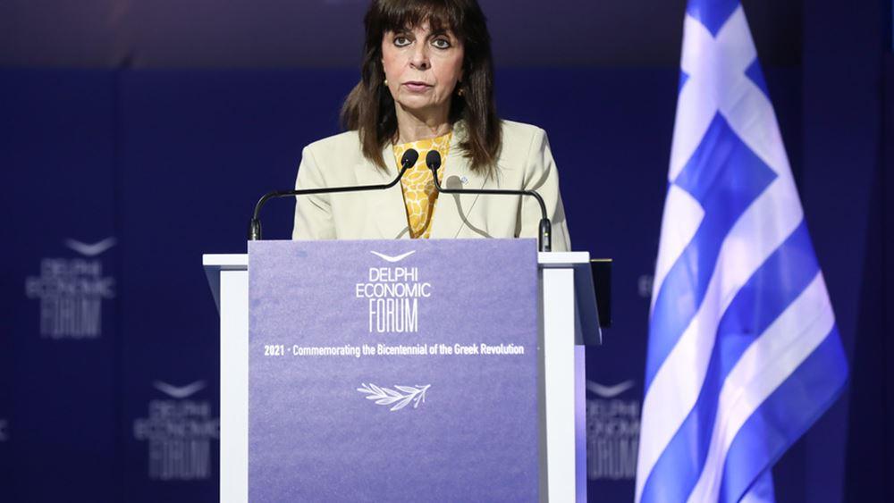 Κ. Σακελλαροπούλου: Μια οικονομία που δοκιμάστηκε σκληρά αλλά προσαρμόστηκε και μεταρρυθμίζεται