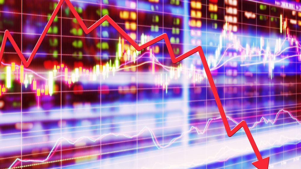 """""""Αιματοκύλισμα"""" στη Wall Street: S&P, Dow βίωσαν τη χειρότερη """"βουτιά"""" τους από το 2008"""