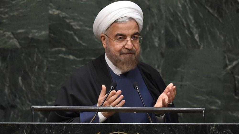 Έτοιμος για διάλογο με τις ΗΠΑ ο πρόεδρος του Ιράν, εάν άρουν πρώτα τις κυρώσεις