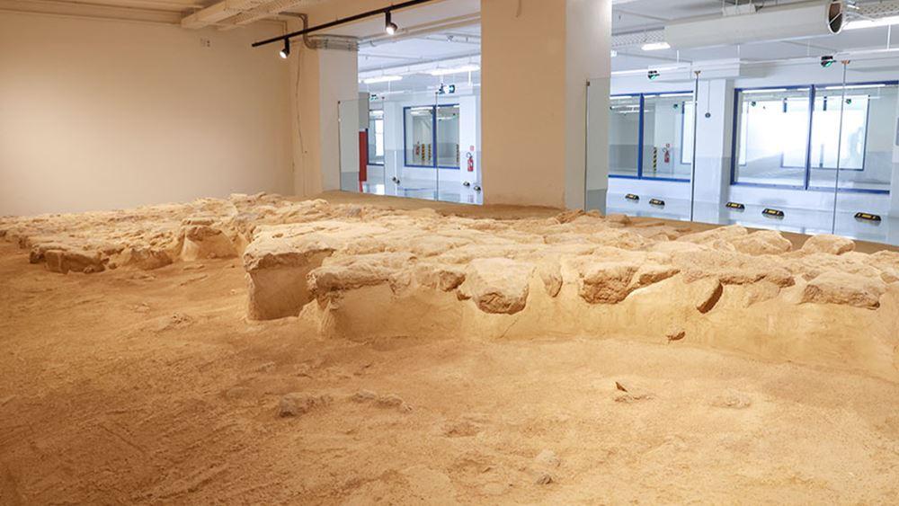 Νέο κατάστημα Lidl στο Ηράκλειο Κρήτης με επισκέψιμο αρχαιολογικό εύρημα στον υπόγειο χώρο στάθμευσης