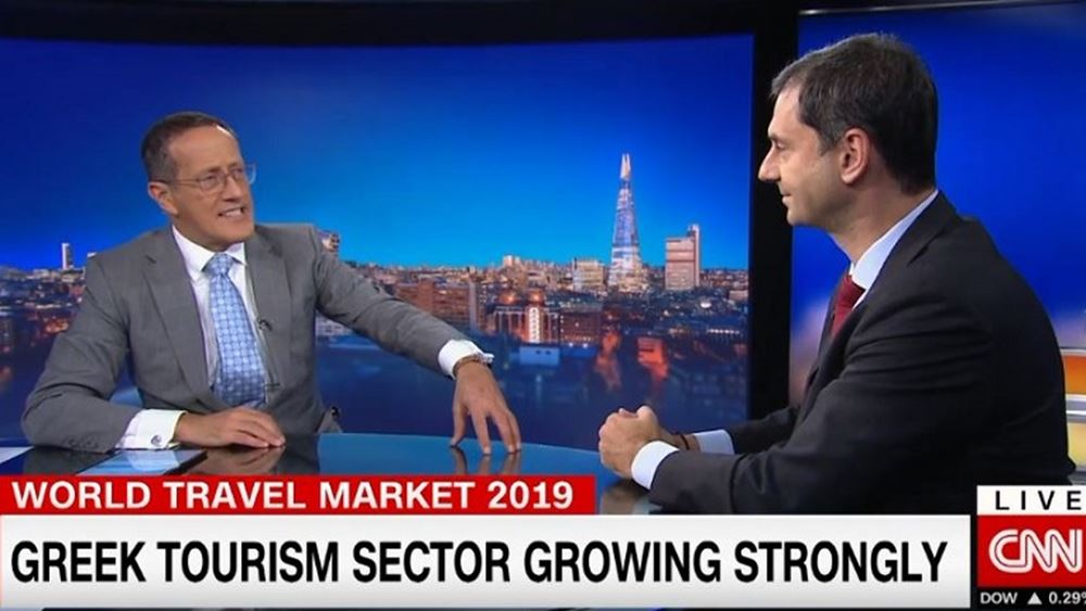 Συνέντευξη Χάρη Θεοχάρη στο CNN και στον δημοσιογράφο Richard Quest