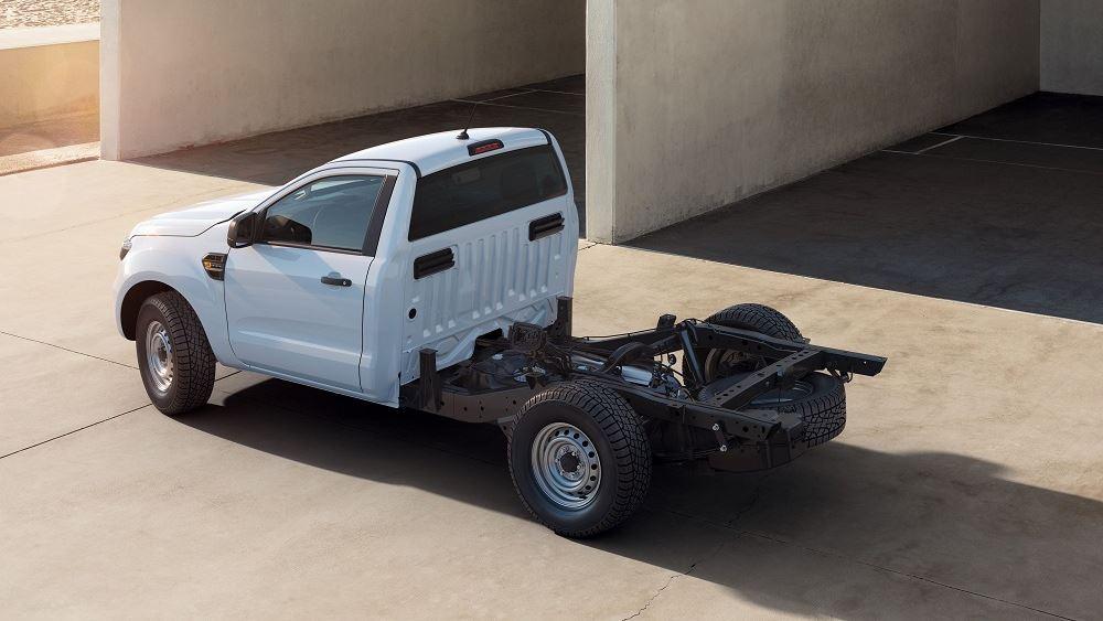 Το Ford Ranger και σε έκδοση Chassis Cab
