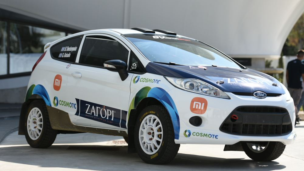 Οι Θεοχαρόπουλος-Κότσαλης στο EKO Ράλλυ Ακρόπολις με Ford Fiesta Rally4/R2