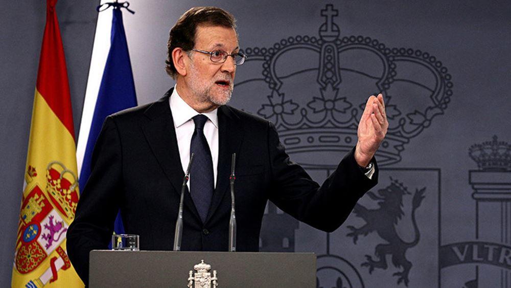 Μ. Rajoy: Αίρεται η αυτονομία της Καταλονίας - σε ισχύ το άρθρο 155