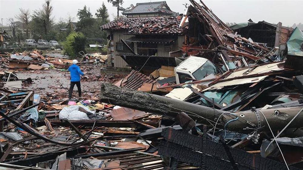 Ιαπωνία: Τουλάχιστον 23 νεκροί από τον τυφώνα Χαγκίμπις