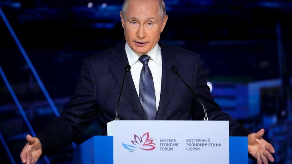 Πούτιν: Η Ρωσία δεν θα περιορίσει τη χρήση της διαδρομής της Βόρειας Θάλασσας από άλλες χώρες