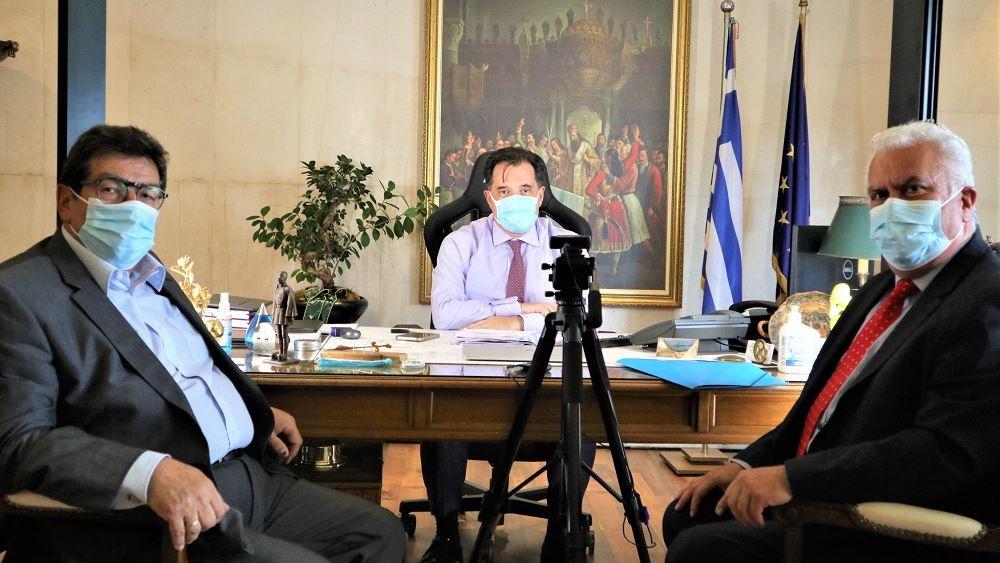 Συνάντηση ΒΕΑ με Γεωργιάδη για το Ελληνικό Σχέδιο του Ταμείου Ανάκαμψης
