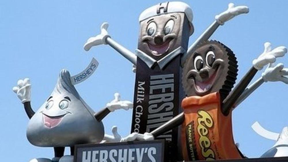 Hershey: Καλύτερα των εκτιμήσεων κέρδη και έσοδα