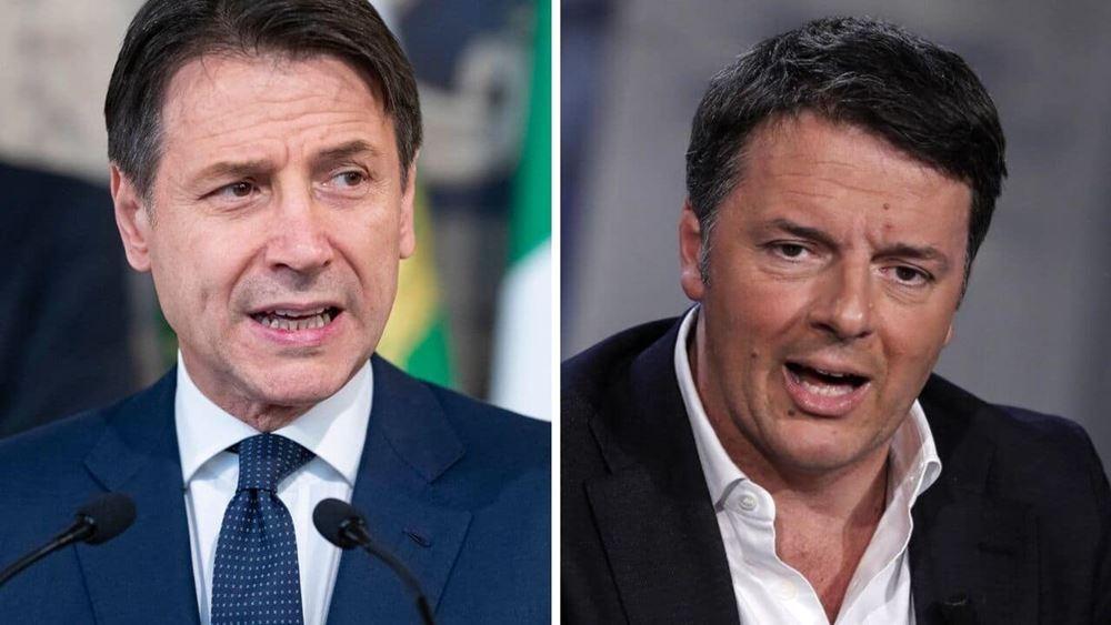 Ιταλία: Ενδοκυβερνητική κόντρα Κόντε - Ρέντσι εξαιτίας νόμου για παραγραφή αδικημάτων