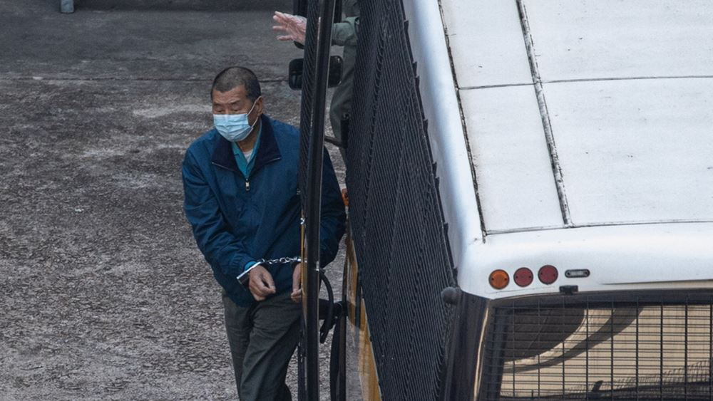 Χονγκ Κονγκ: Ο μεγιστάνας του φιλοδημοκρατικού Τύπου Τζίμι Λάι θα εκτίσει 14μηνη ποινή φυλάκισης