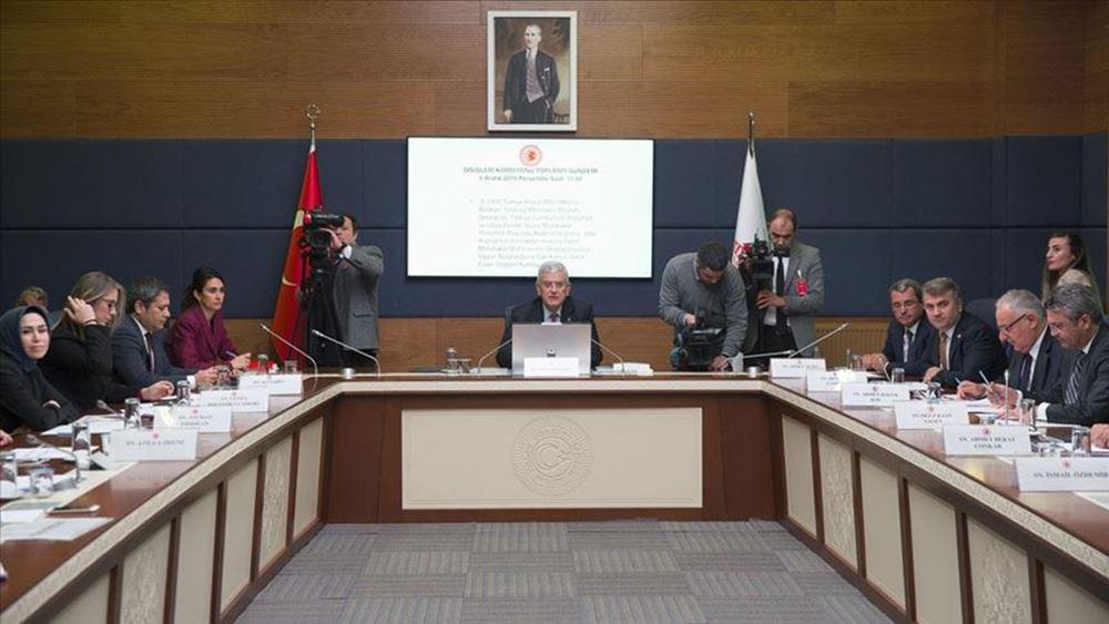 Η Τουρκική Εθνοσυνέλευση ενέκρινε το μνημόνιο συνεργασίας με τη Λιβύη
