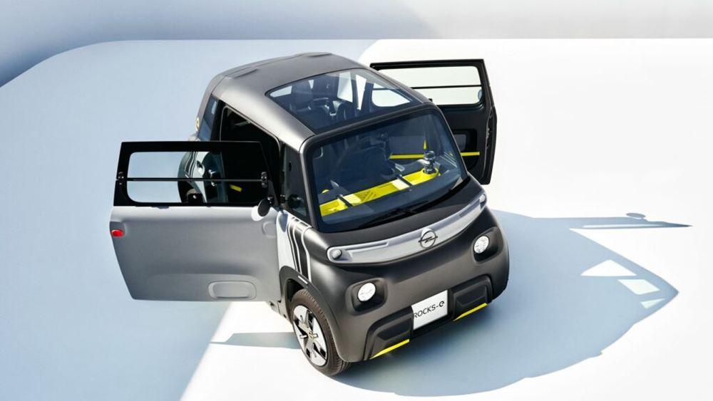Το νέο και καινοτόμο Opel Rocks-e