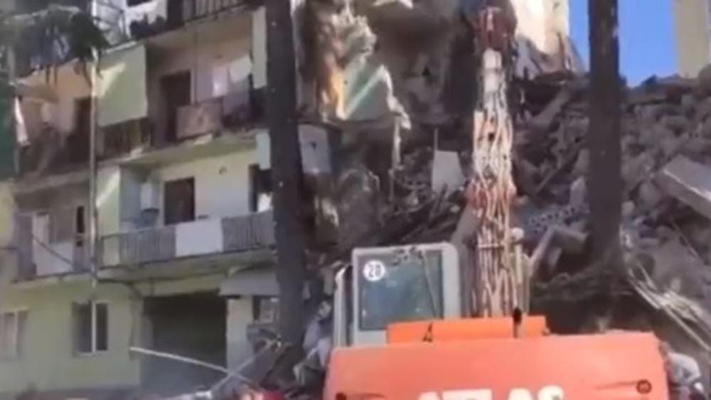 Γεωργία: Κατέρρευσε μεγάλο τμήμα συγκροτήματος διαμερισμάτων στο Μπατούμι
