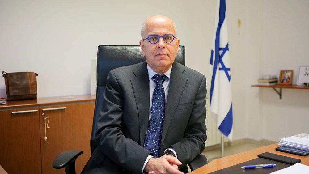 Ισραηλινός πρέσβης: Στρατηγικής σημασίας για το Ισραήλ η σχέση με την Ελλάδα