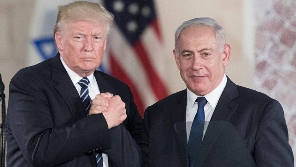 """Το """"ειρηνευτικό σχέδιο"""" του Τραμπ: Παλαιστινιακό κράτος με πρωτεύουσα στην Ανατολική Ιερουσαλήμ"""