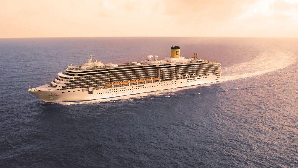 Ο όμιλος Costa θα επαναλάβει τις κρουαζιέρες στη Μεσόγειο στις 6 Σεπτεμβρίου
