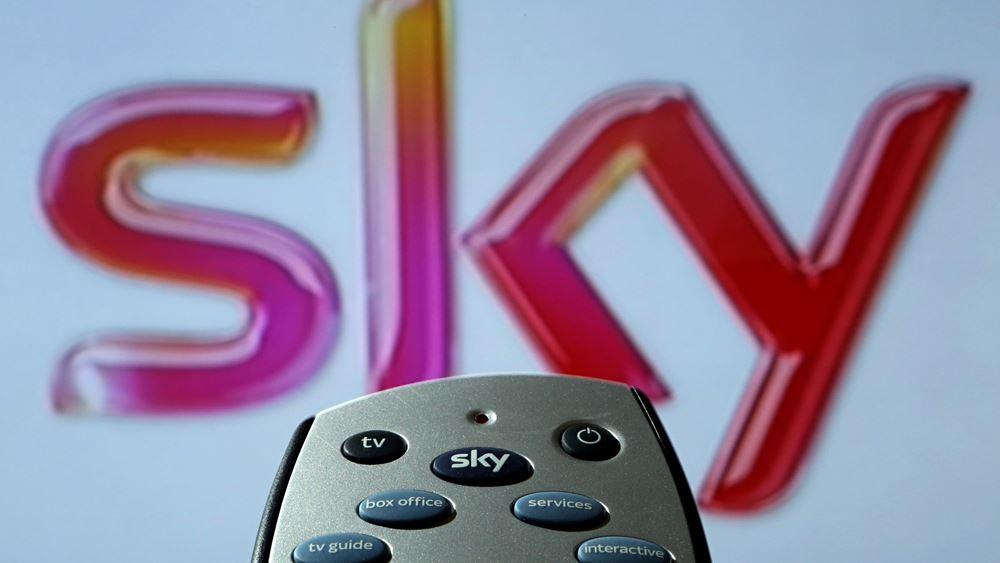 Ράλι για τη μετοχή της Sky μετά τη μάχη προσφορών Comcast - Fox