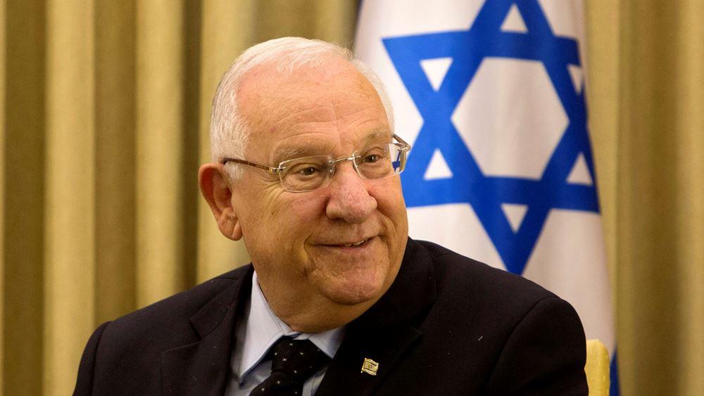 Πρόσκληση του προέδρου του Ισραήλ στον πρίγκιπα διάδοχο των Ην. Αραβικών Εμιράτων