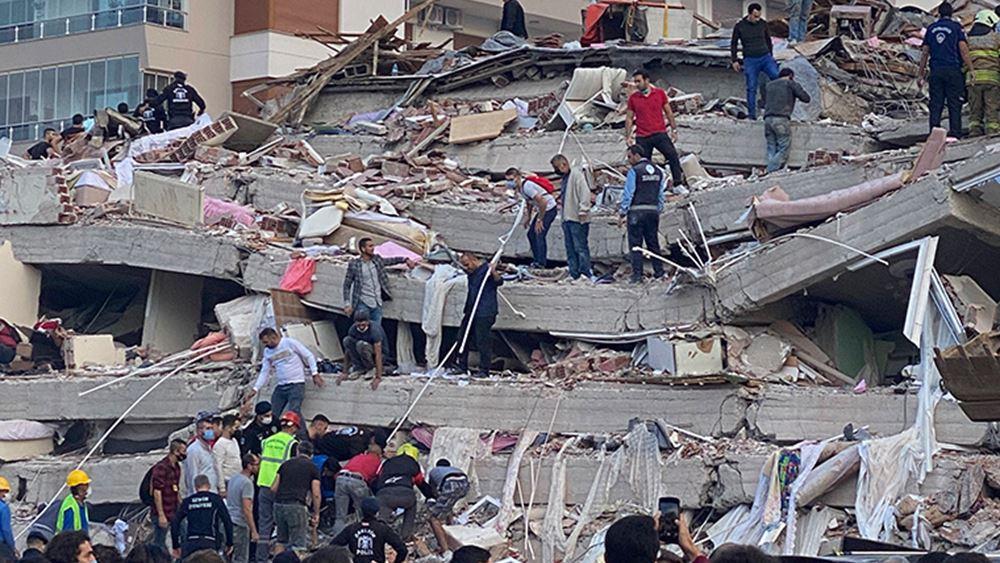 Τουρκία: Τουλάχιστον 69 οι νεκροί από τον σεισμό